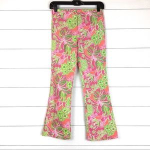 Lilly Pulitzer Girls Jubilee Cotton Printed Pants